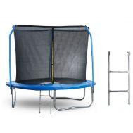 Батут 8 футов (244 см) с внутренней сеткой, держателями и лестницей, фото 1