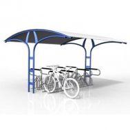 Двухсторонняя велосипедная парковка ПАЛЬМА, фото 1