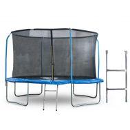 Батут 10 футов (305 см) с внутренней сеткой, держателями и лестницей, фото 1