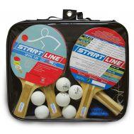 Набор START LINE: 4 Ракетки Level 100, 6 Мячей Club Select, Сетка с креплением, упаковано в сумку на молнии с ручкой, фото 1