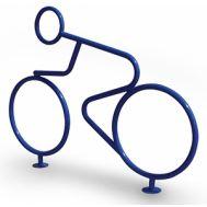 Велопарковка Велогонщик, фото 1