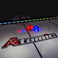 Шайба для аэрохоккея LED «Atomic Top Shelf» (прозрачная, красный светодиод) D76 mm, фото 1