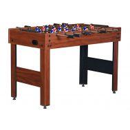 Настольный футбол (кикер) «Standart» (122x61x78.7 см, коричневый), фото 1