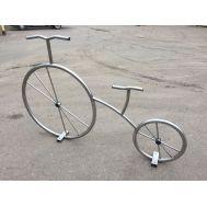 Велосипед декоративный из нержавеющей стали, фото 1