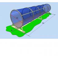 Мобильная полоса препятствий (разрушенная лестница, лабиринт, подвижная лестница и туннель), фото 1