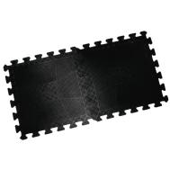 Коврик резиновый 400 х 400 х 20 мм чёрный, фото 1