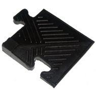 Уголок резиновый для бордюра 12 мм чёрный, фото 1