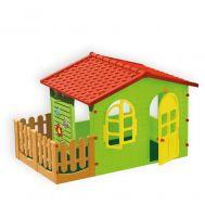 Домик с забором садовый 10498, фото 1