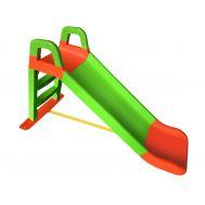 Горка Весёлый спуск 140/04 оранжевый/зелёный, фото 1