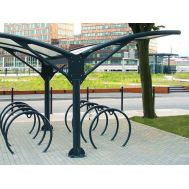 Велопарковка с навесом НИКА, фото 1