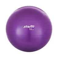 Мяч гимнастический GB-101 55 см, антивзрыв, фиолетовый, фото 1