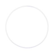 Обруч для художественной гимнастики AGO-101, 65 см, фото 1