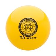 Мяч для художественной гимнастики RGB-101, 19 см, желтый, фото 1