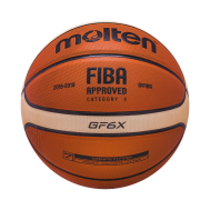 Мяч баскетбольный BGF6X №6, FIBA approved, фото 1