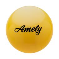Мяч для художественной гимнастики AGB-101, 15 см, желтый, фото 1