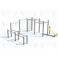 Спортивный комплекс для подготовки к сдаче норм ГТО (модерн.) СВС-35-М, фото 1