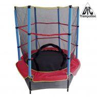 Детский батут DFC Trampoline Fitness 55 дюймов с сеткой (137см), фото 1