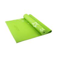 Коврик для йоги STARFIT FM-102 PVC 173x61x0,3 см, с рисунком, зеленый 1/20, фото 1