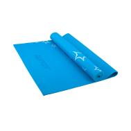 Коврик для йоги STARFIT FM-102 PVC 173x61x0,3 см, с рисунком, синий 1/20, фото 1