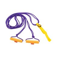 Эспандер лыжника-пловца ЭЛМ-2Р-К подростковый, двойной, фото 1