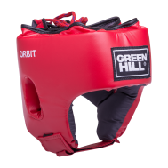 Шлем открытый детский Orbit, HGO-4030, кожзам, красный, L, фото 1