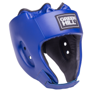 Шлем открытый Alfa HGA-4014, кожзам, синий, S, фото 1