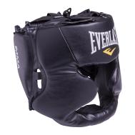 Шлем закрытый Martial Arts full face 7420LXLU, L/XL, кожзам, черный, фото 1
