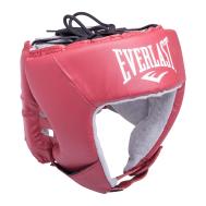 Шлем открытый USA Boxing 610400U, L, кожа, красный, фото 1