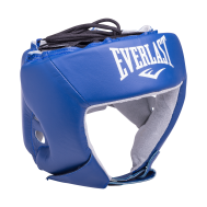 Шлем открытый USA Boxing 610406U, L, кожа, синий, фото 1