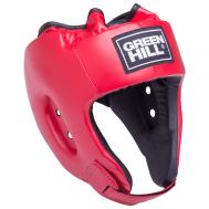 Шлем открытый Alfa HGA-4014, кожзам, красный, XL, фото 1
