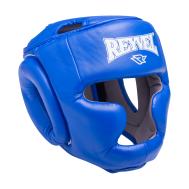 Шлем закрытый RV-301, кожзам, синий, XL, фото 1