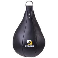 Груша боксерская Е521, кожзам, 5 кг, черный, фото 1