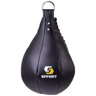Груша боксерская E523, кожзам, 16 кг, черный, фото 1