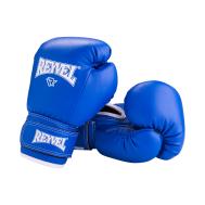 Перчатки боксерские RV-101, 8oz, к/з, синие, фото 1