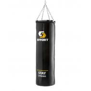 Мешок боксерский E256, тент, 60 кг, черный, фото 1