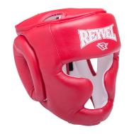 Шлем закрытый RV-301, кожзам, красный, XL, фото 1
