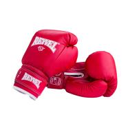 Перчатки боксерские RV-101, 10oz, к/з, красные, фото 1