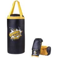 Набор для бокса E1454, кожзам, черный, фото 1