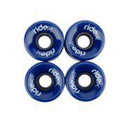 Комплект колес для круизеров SW-200, PU, темно-синий, фото 1