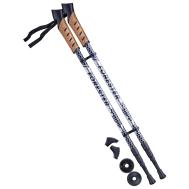 Палки для скандинавской ходьбы Forester, 67-135 см, 3-секционные, серый/чёрный, фото 1