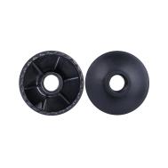 Комплект колец ограничительных для скандинавских палок, 2 шт., чёрный, фото 1