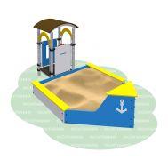 Песочница Корабль «Romana 109.07.00», фото 1
