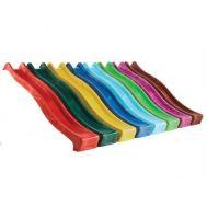 Пластиковая горка с крепежом, скат 3 метра, для Кузнечик и Элит, фото 1