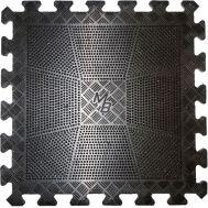 Коврик резиновый черный 400х400, толщина 12мм, фото 1