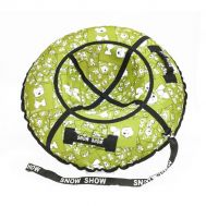 Тюбинг STANDART Собачки в зеленом 100 см, фото 1
