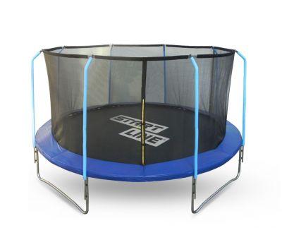 Батут 12 футов (366 см) с внутренней сеткой и держателями, фото 1