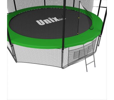 Батут UNIX line 10 ft inside (green), фото 4