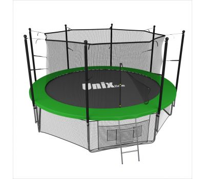 Батут UNIX line 10 ft inside (green), фото 1