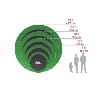 Батут UNIX line 6 ft inside (green), фото 11