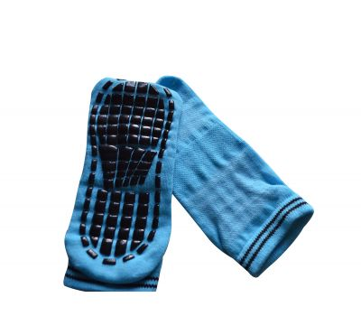 Носки антискользящие детские. Голубой, фото 3